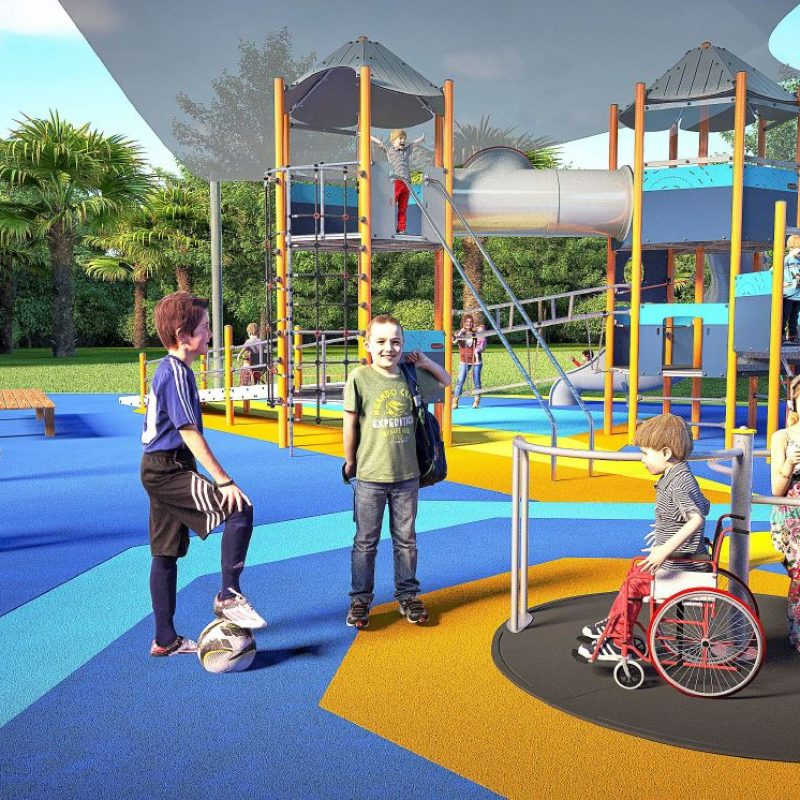 A guide to Inclusive Playgrounds