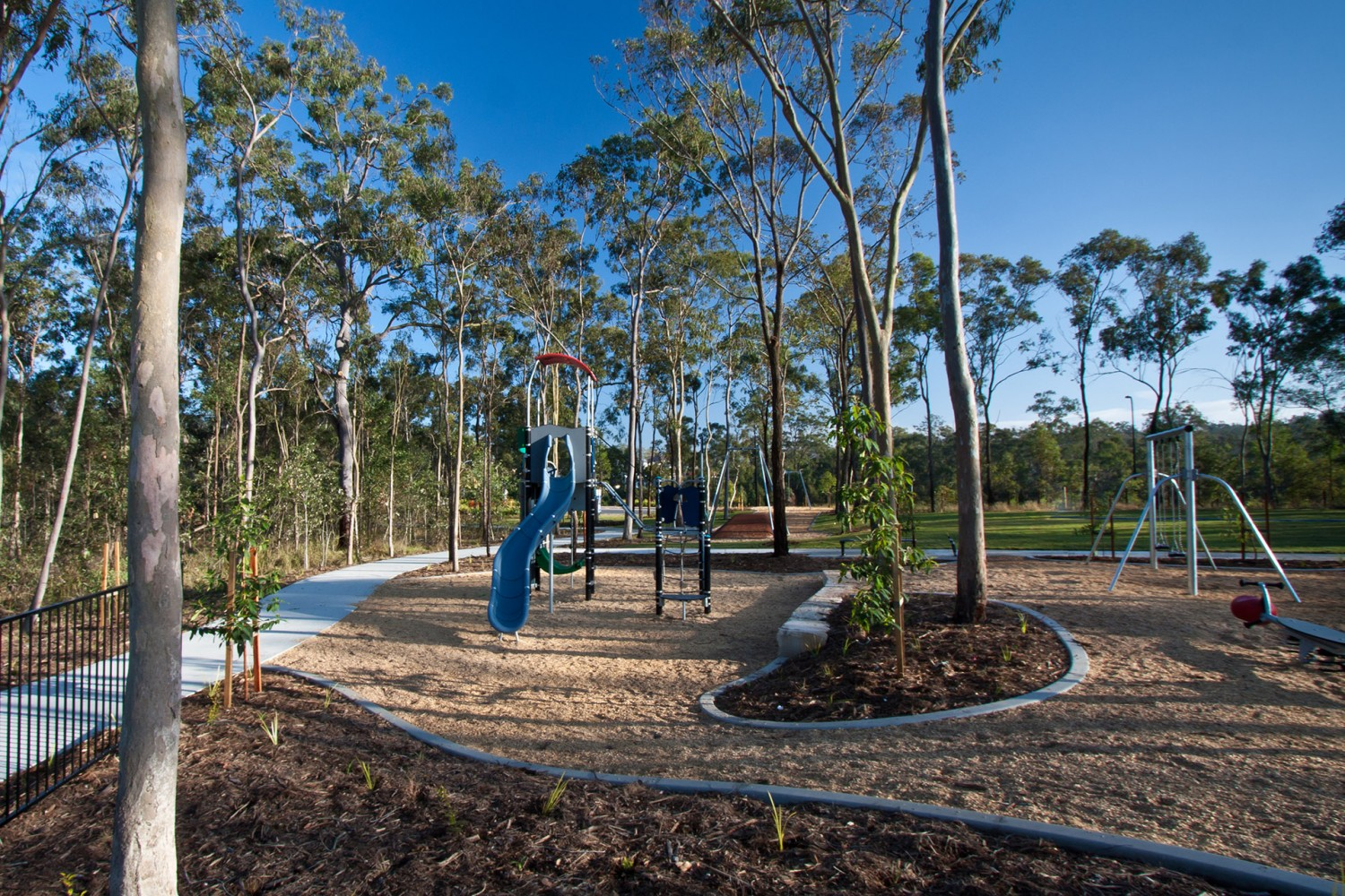 Commercial Playground Design Brentwood Forest Park