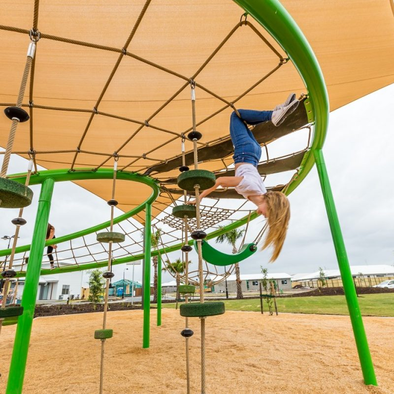 The risk-benefit equation of challenging playgrounds