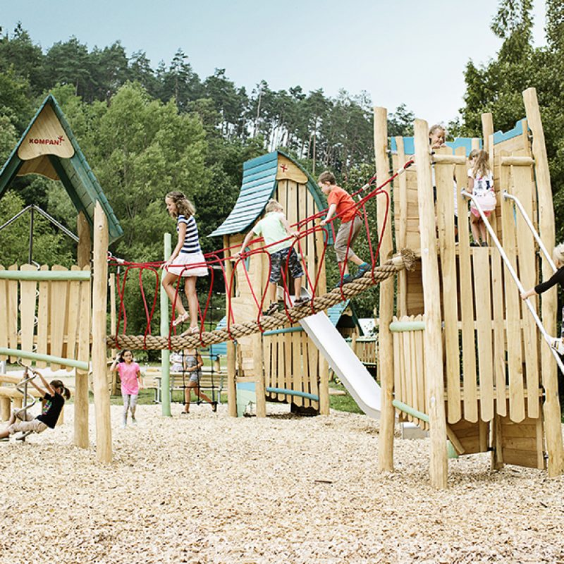 Benefits of Nature Playgrounds