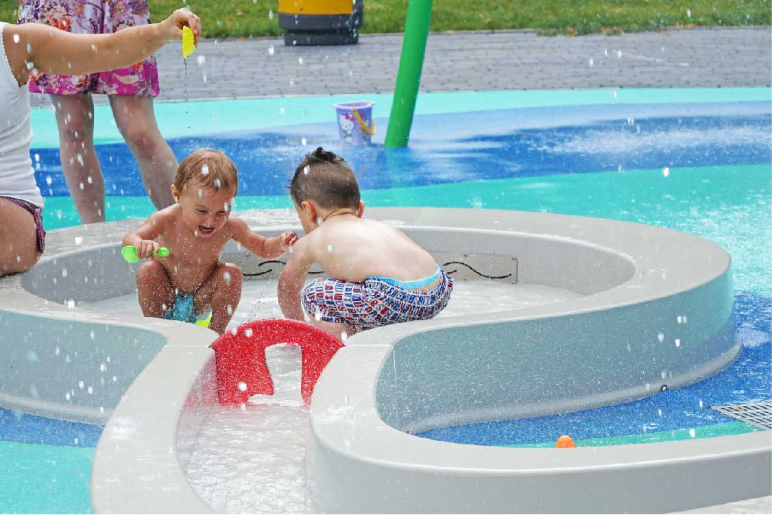 Urban Play makes a splash!
