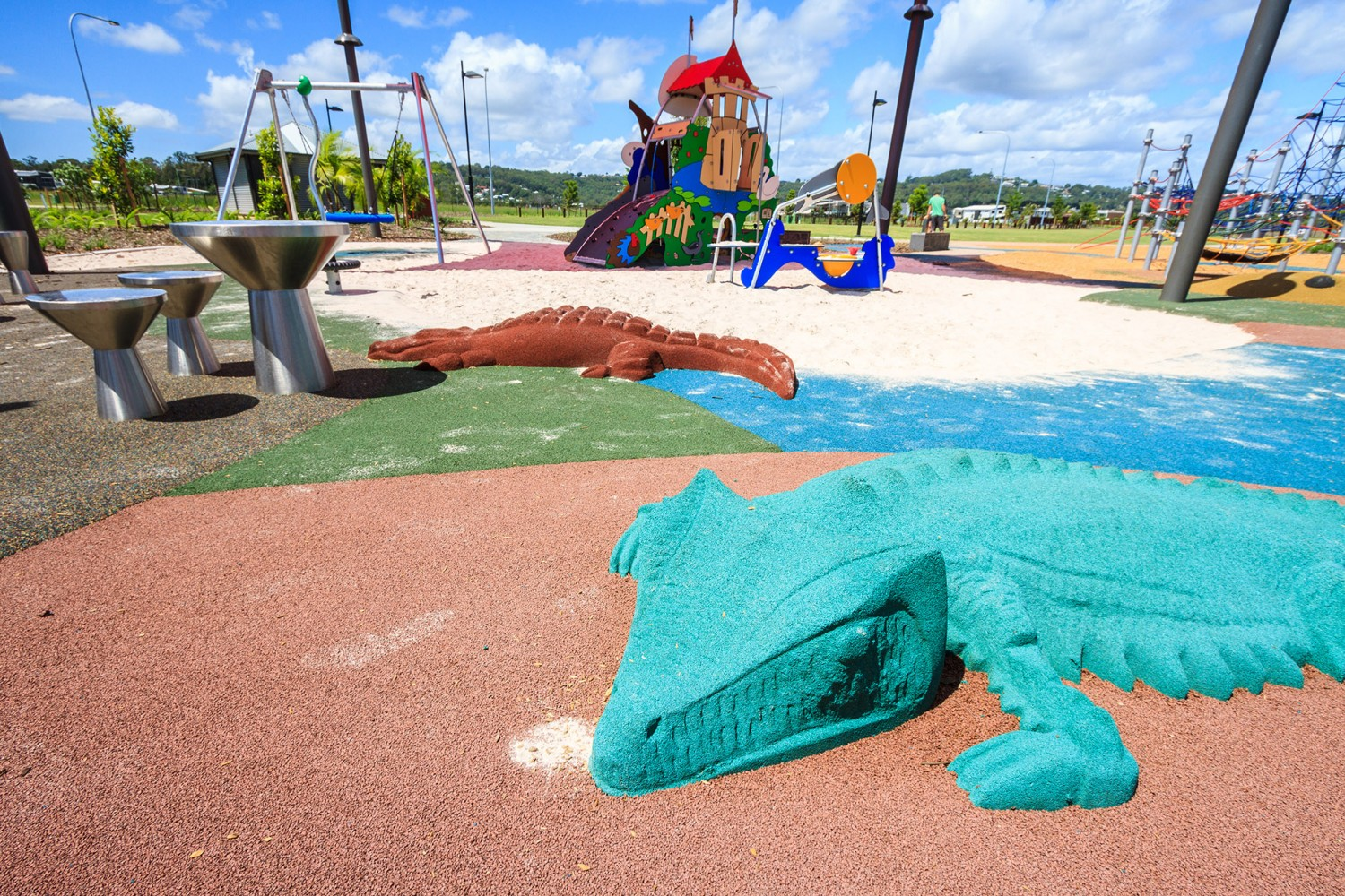 Commercial Playground Design Sunshine Cove Urban Play