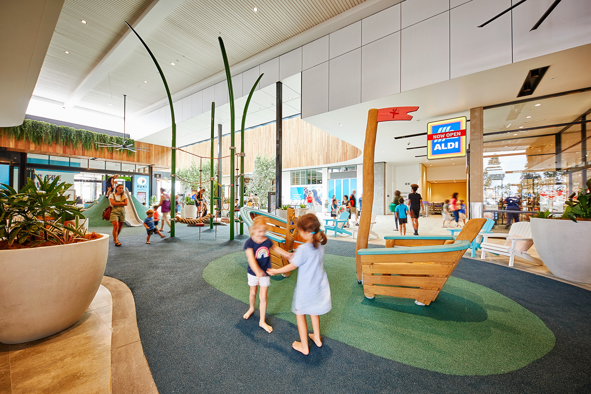 3 reasons why your shopping centre needs a playground…