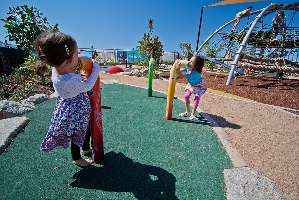 Five Playground Features for Children under 5s