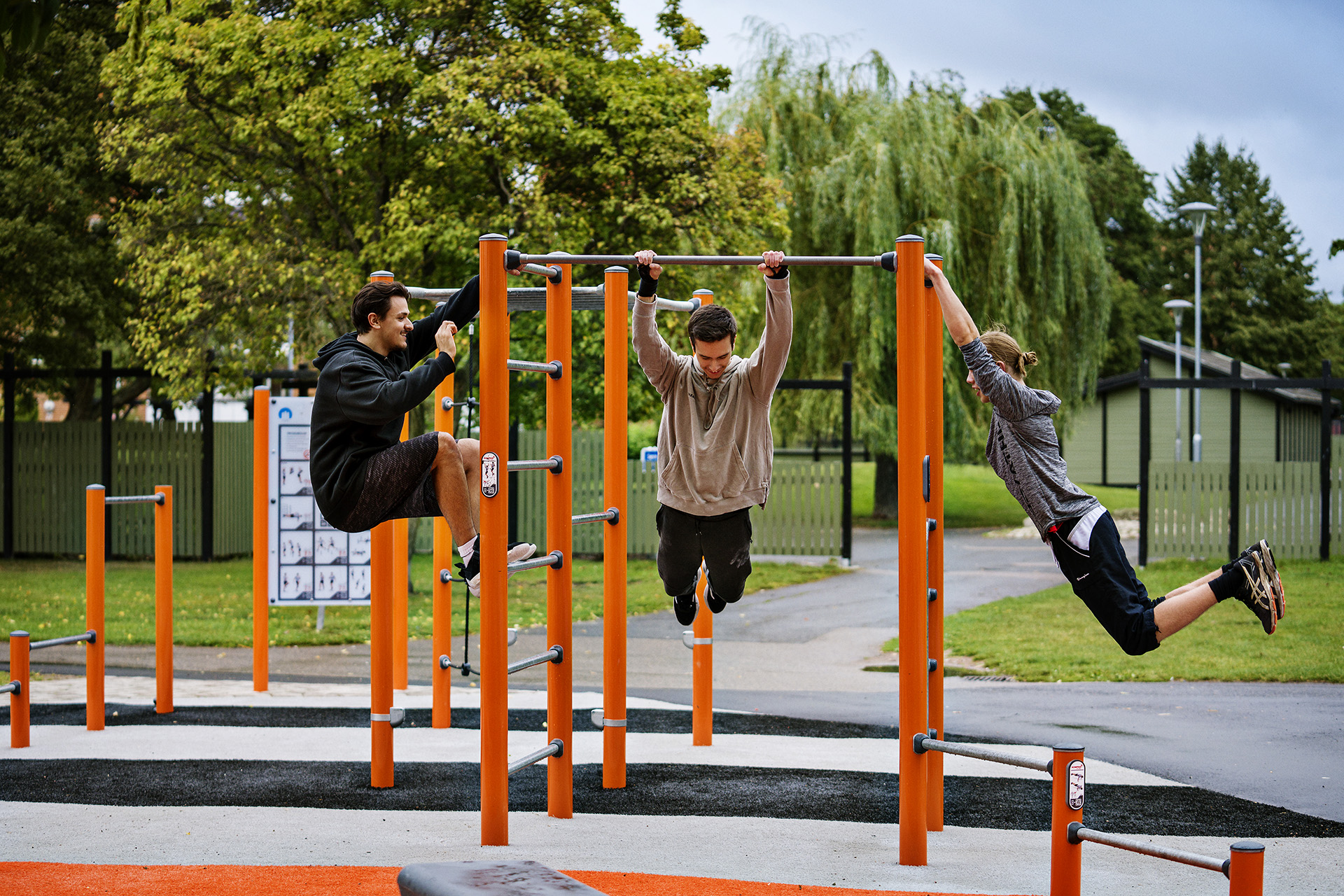 New Outdoor Calisthenics Equipment