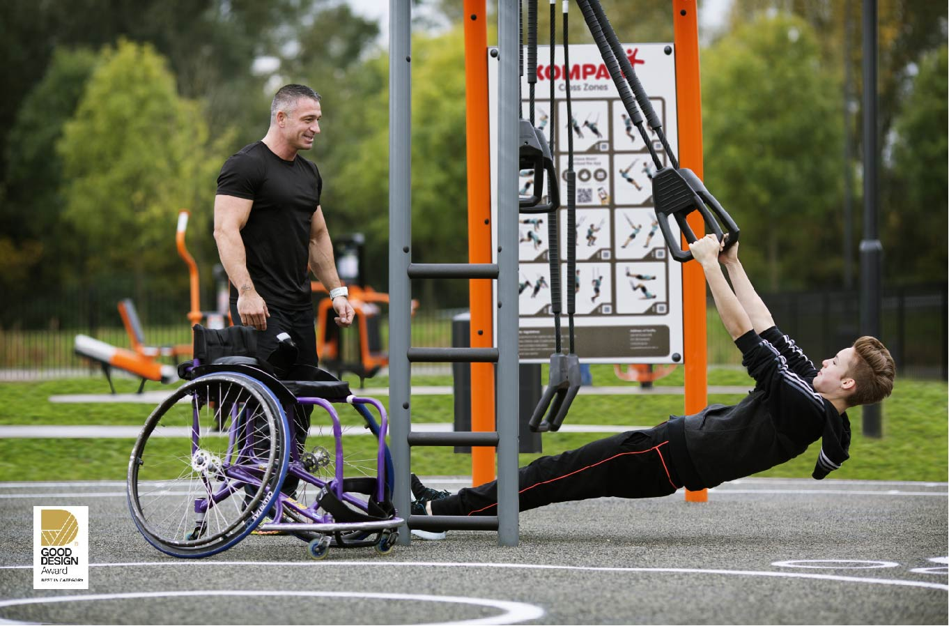New Outdoor Fitness Range Wins Prestigious Award