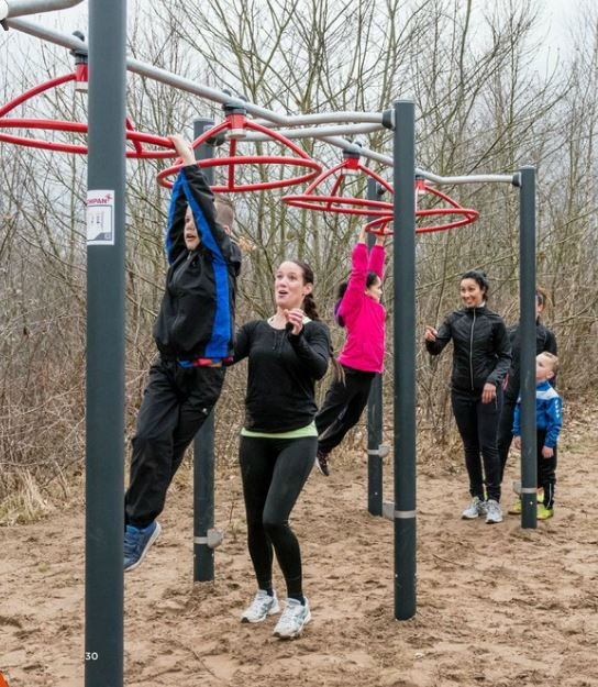 New obstacle course combines play and exercise